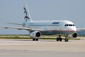 Crescita di passeggeri per Aegean: traina il traffico internazionale a +11%