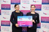 Wizz Air basa nuovo aereo a Iasi e apre 6 nuove rotte