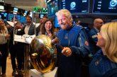 Il trionfo di Branson: Virgin Galactic approda a Wall Street e vale 2,4 mld