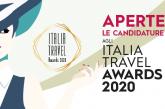 Al via la quinta edizione di Italia Travel Awards 2020