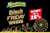 Sconti sugli abbonamenti con il Black Friday di Mirabilandia