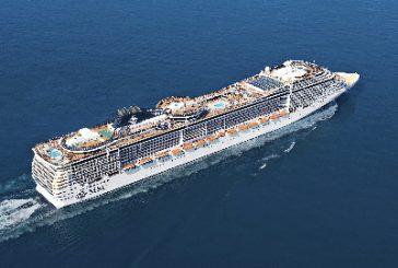 Msc Fantasia arriva a Cagliari e Compagnia promette 130.000 turisti nel 2020