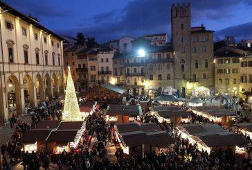 Con 'Arezzo Città del Natale' il centro storico aretino si veste a festa