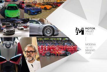 Dal 14 al 17 maggio il Motor Valley Fest torna a Modena