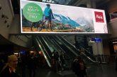 Big screens negli aeroporti tedeschi per promuovere il Belpaese