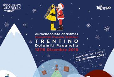 Eurochocolate Christmas torna in pista nel Comprensorio della Paganella