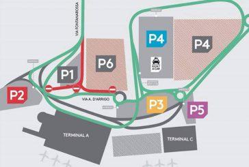 Catania, cambia la viabilità in aeroporto per una settimana