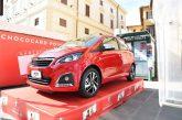 Assegnati premi del Concorso ChocoCard 2019: Peugeot 108 Allure va a Salerno