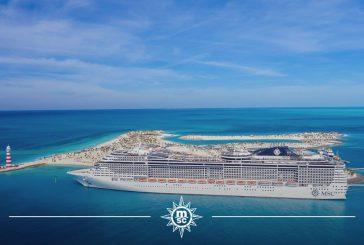 Msc accoglie i primi ospiti nella sua nuova destinazione privata nelle Bahamas